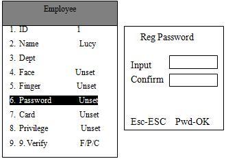 cách cài đặt password