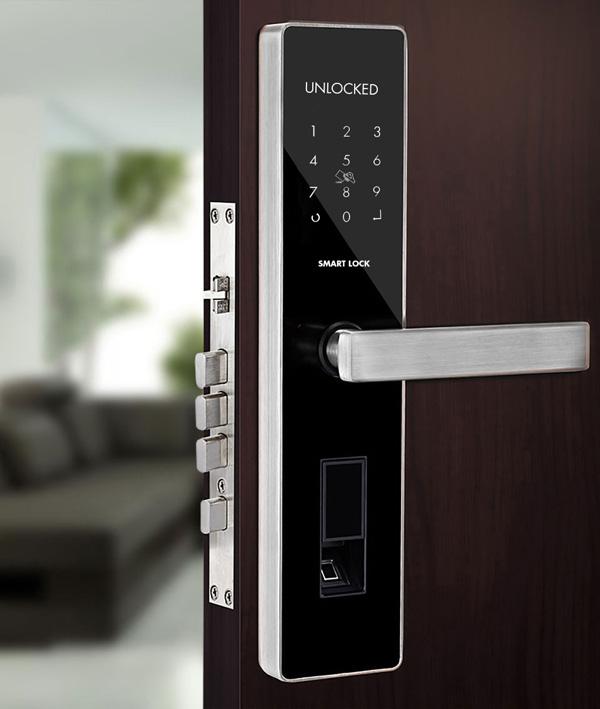 khóa điện tử thông minh bluetooth denso lock vz16
