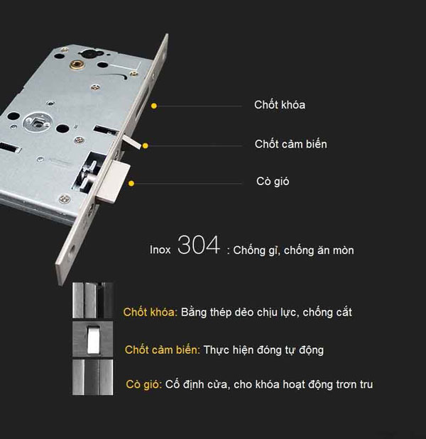 khóa cửa điện tử yale ydm3109