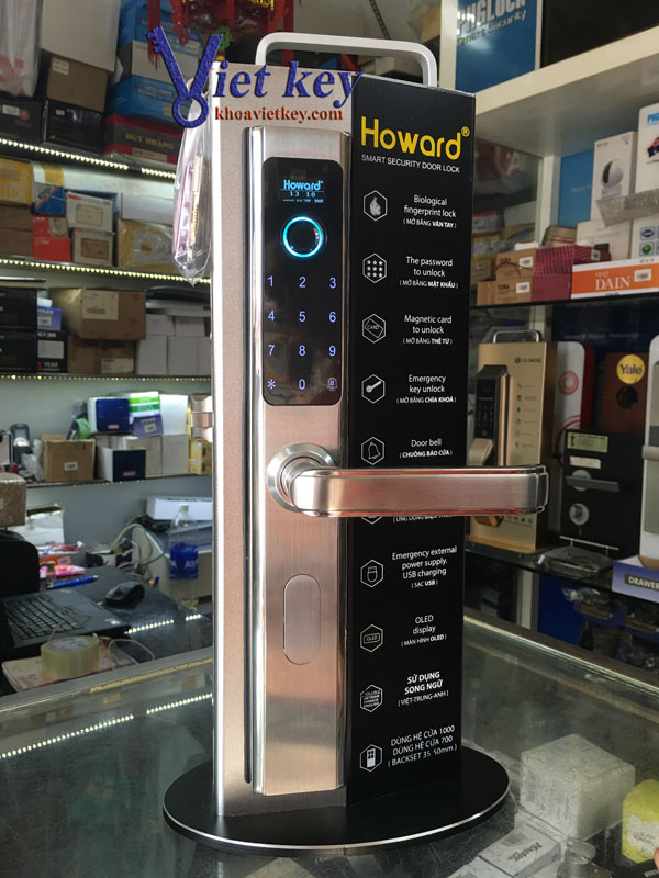 Khóa điện tử Howard