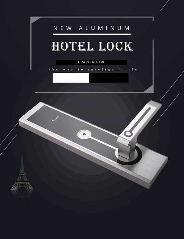 khóa thẻ từ khách sạn tenon hl01