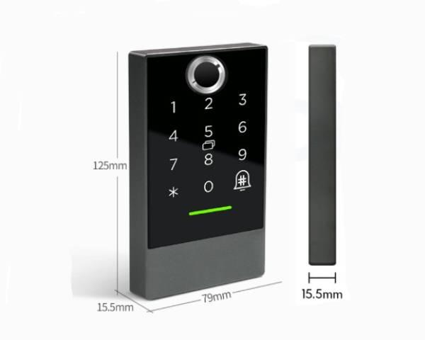kiểm soát ra vào nhà trọ bằng điện thoại denso lockk2f