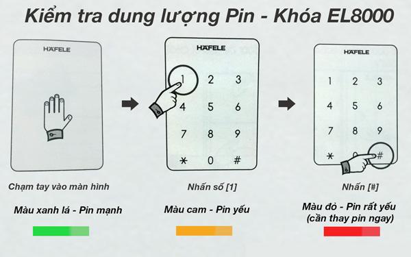 cách kiểm tra dung lượng pin