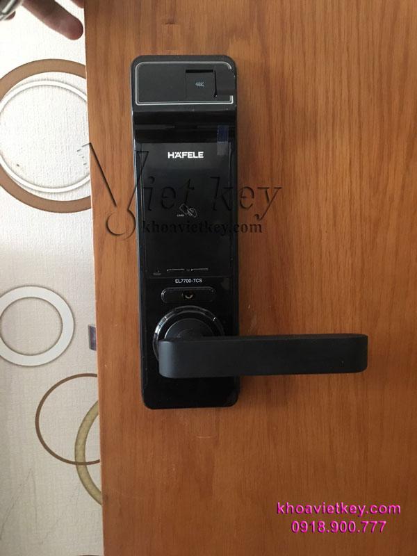 lắp đặt khóa điện tử hafele 7700 giá rẻ