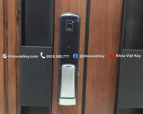 lắp đặt khóa điện tử hafele el9500 tcs tại kdc văn minh quận 2