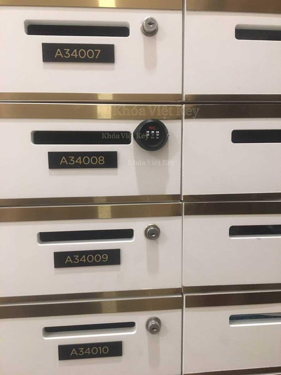 Lắp Đặt Khóa Mã Số Real (Camlock) tại Vinhomes Tôn Đức Thắng