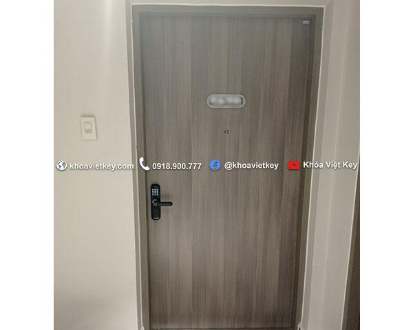 lắp đặt khóa vân tay giá rẻ denso lock fp01 tại quận 7 hcm