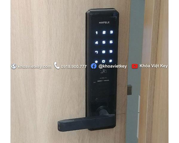 nơi lắp đặt khóa điện tử hafele el7200 tc giá rẻ tại hcm