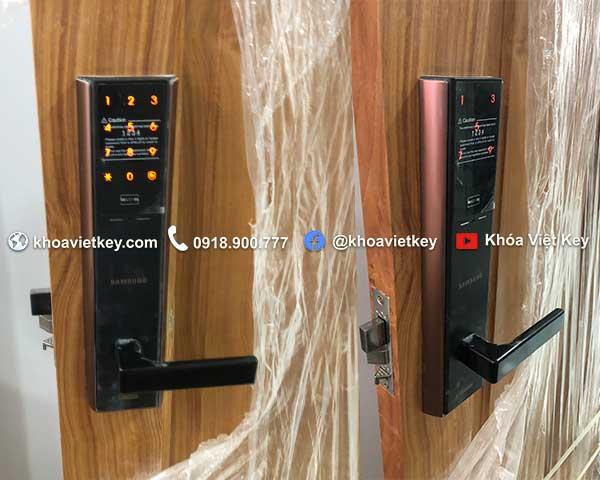 nơi lắp đặt khóa cửa thẻ từ samsung shp dh537 giá rẻ tại hcm