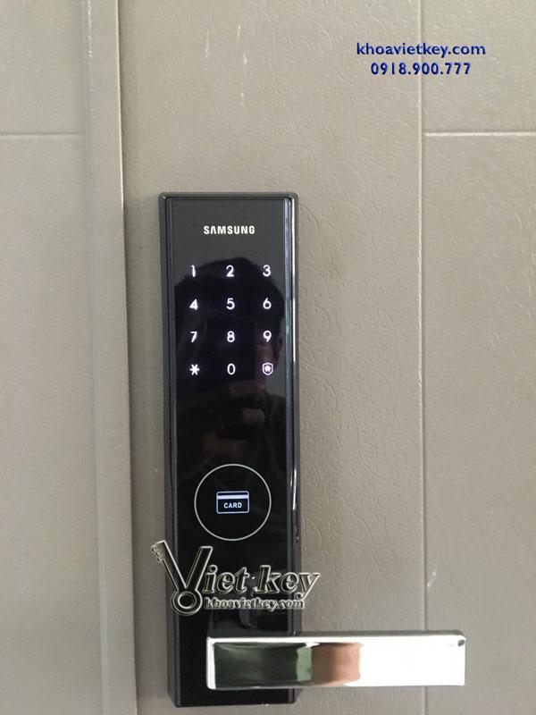 nơi lắp khóa điện tử samsung shs h505 giá rẻ