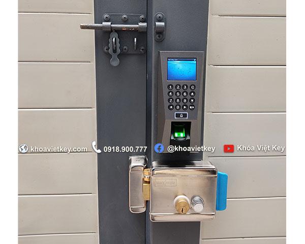 nơi lắp khóa vân tay cho cửa cổng căn hộ dịch vụ tại hcm